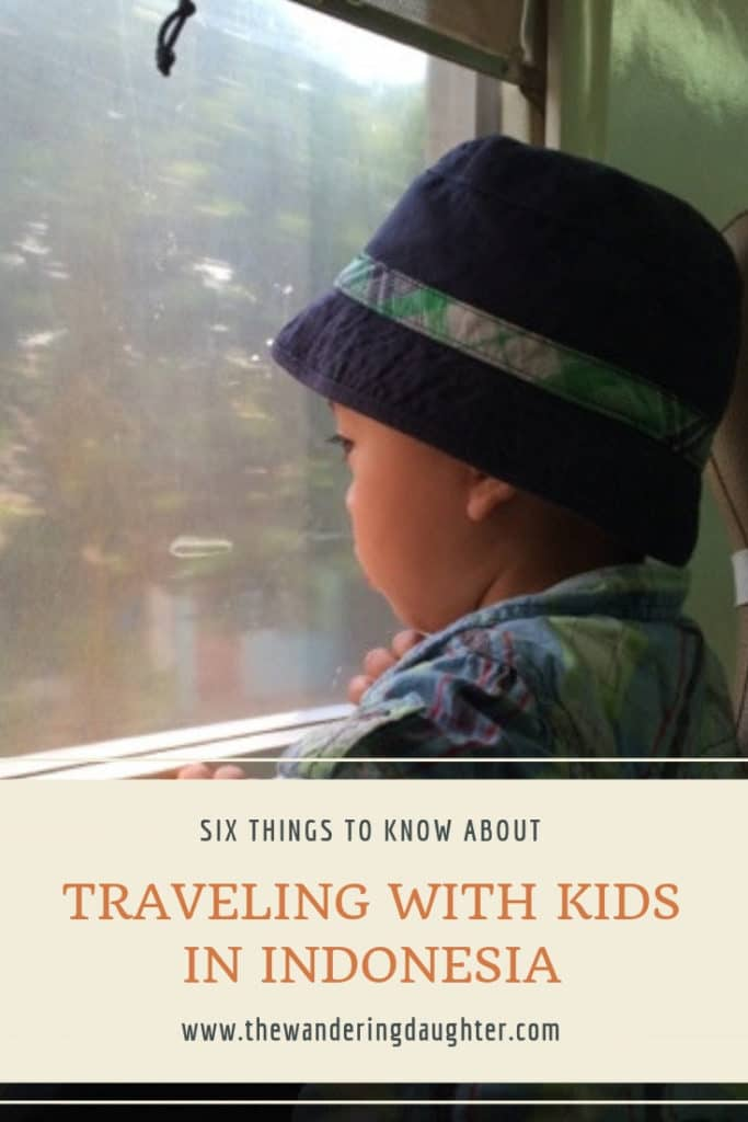 Six Things To Know About Traveling With Kids In Indonesia | The Wandering Daughter | Tips for traveling with kids in Indonesia. What you need to know before visiting Indonesia with kids.