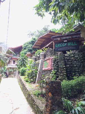 A locally owned guest house in Sumatra, Indonesia, where they practice sustainable and responsible tourism