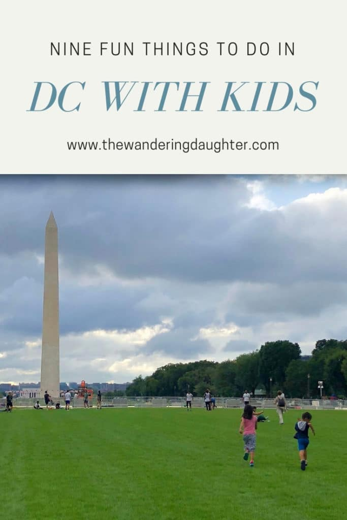 Nine Fun Things To Do In DC With Kids   The Wandering Daughter