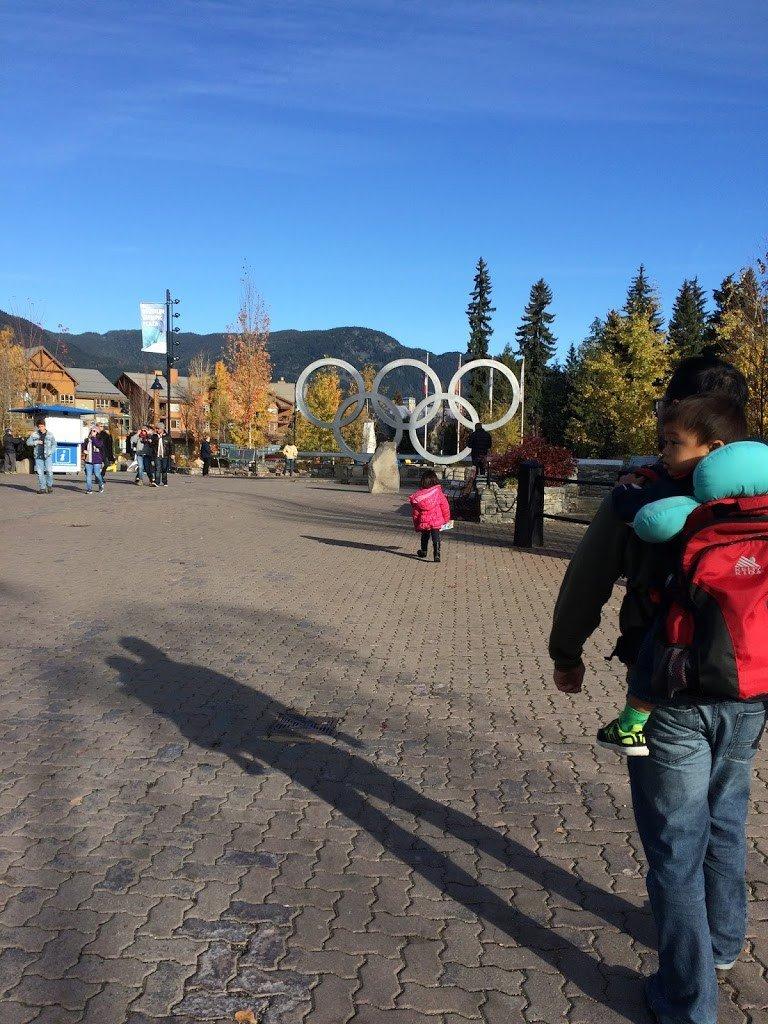 Family taking Seattle day trips in Whistler, BC
