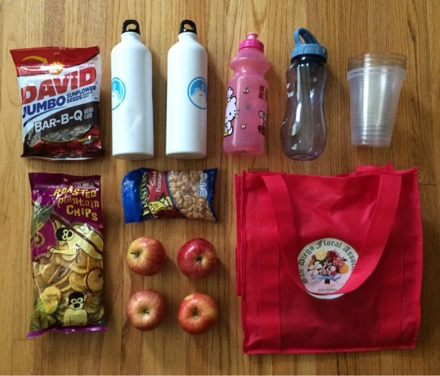 Snacks for a weekend road trip