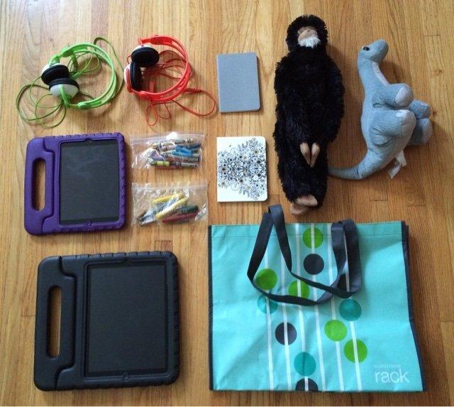 Activities and toys for kids for a weekend road trip