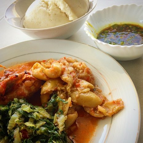 Sampling nshima, a traditional Zambian dish is one of the things to do in Lusaka