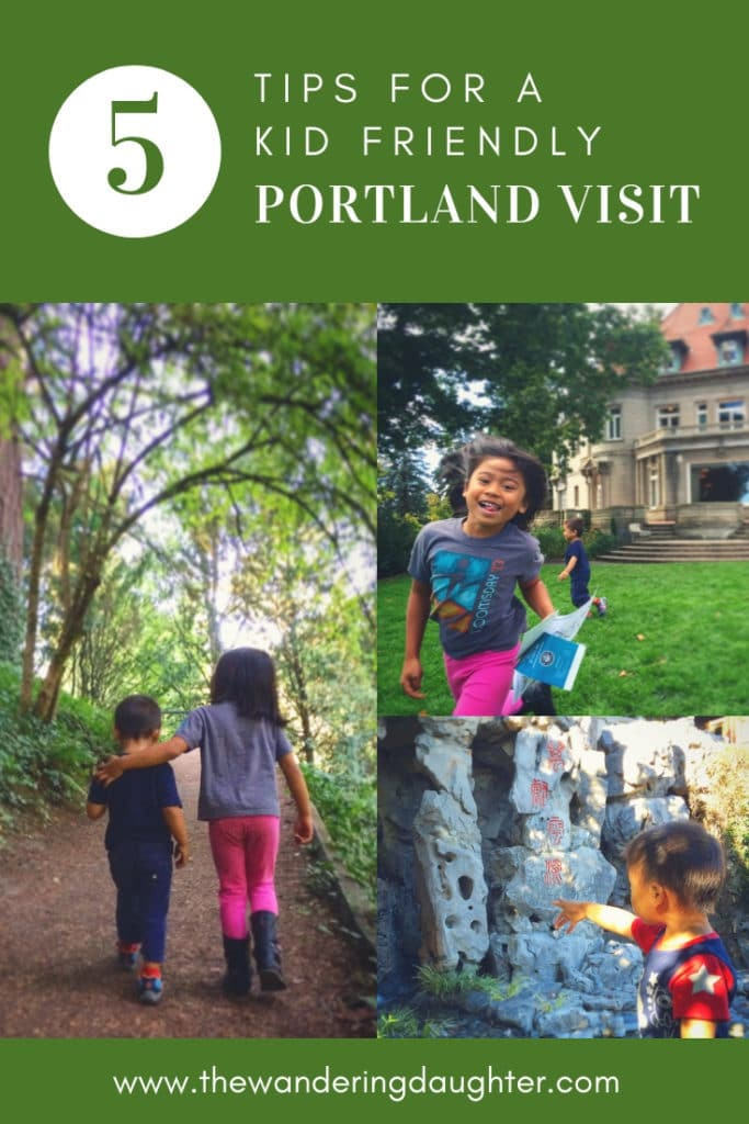 Five Tips For A Kid Friendly Portland Visit | The Wandering Daughter