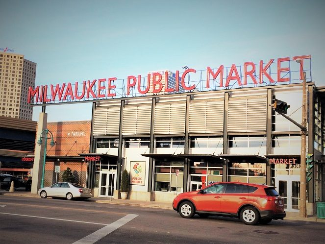Milwaukee Public Market, one of the places for fun Milwaukee activities for families