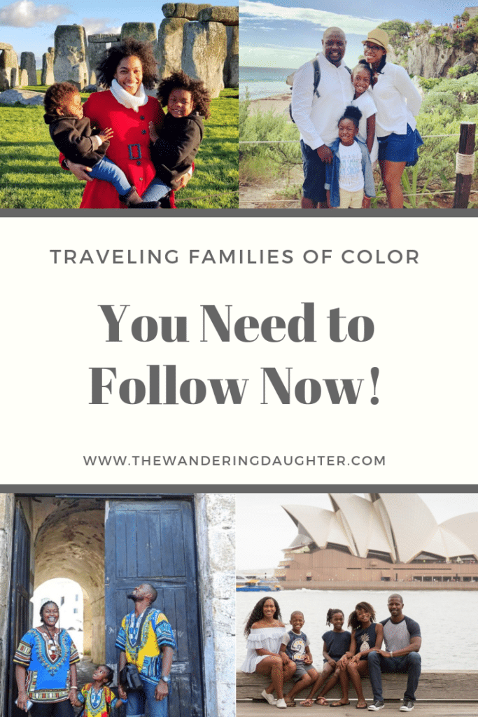 Traveling Families of Color - Black travel bloggers