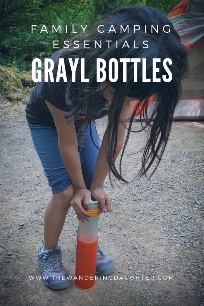 Family Camping Essentials: GRAYL Bottles   The Wandering Daughter