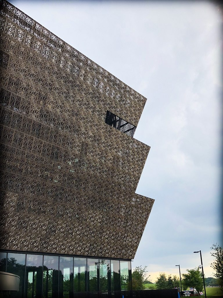 The National Museum of African American History and Culture in Washington, DC, where families can do DC world schooling activities focusing on African American history and culture