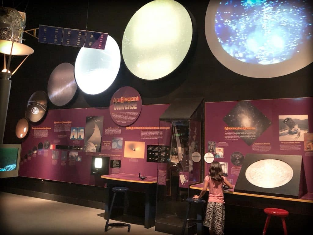 The National Air and Space Museum in Washington, DC, a perfect spot for DC world schooling activities for families.