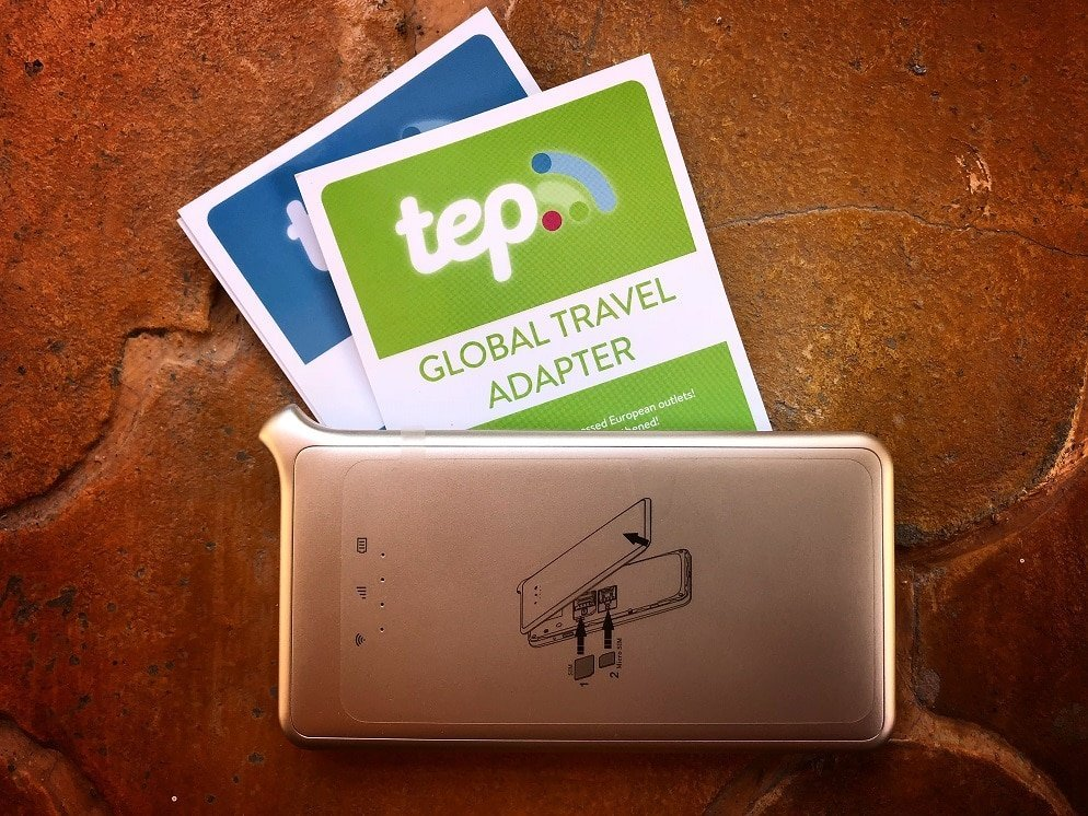 TEP wireless for international WiFi for working nomads