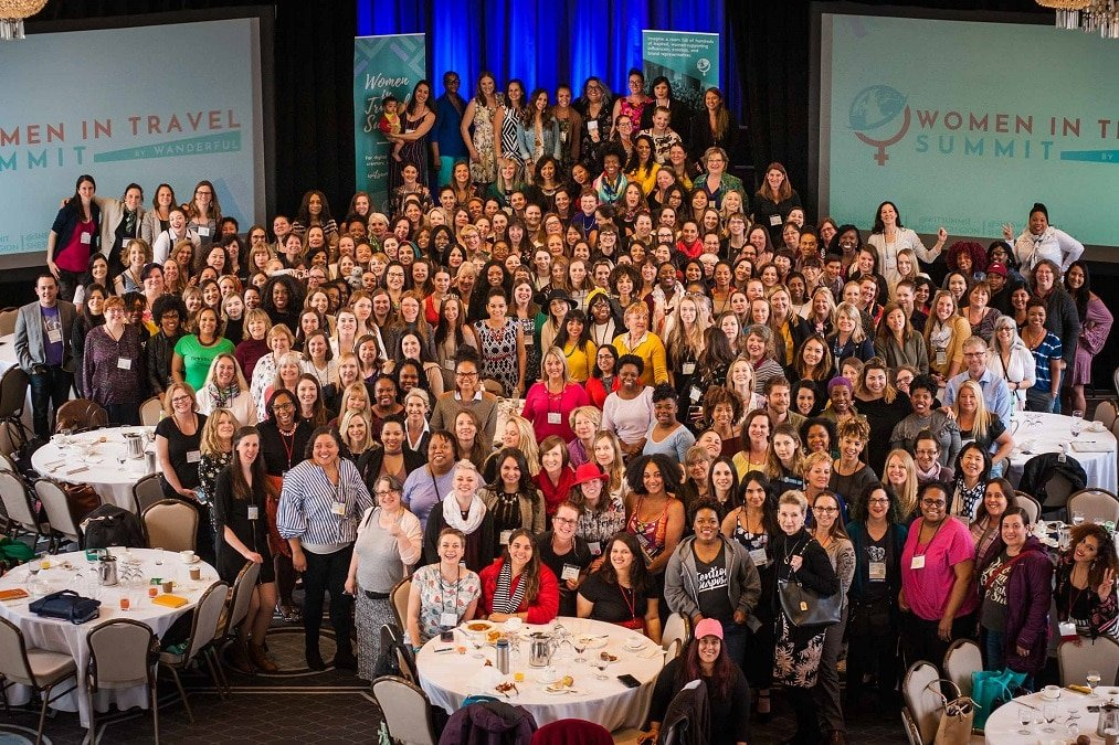 Female role models at the Women in Travel Summit