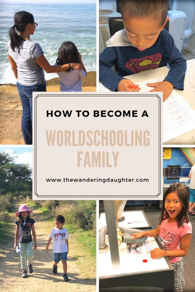 How To Become A Worldschooling Family | The Wandering Daughter