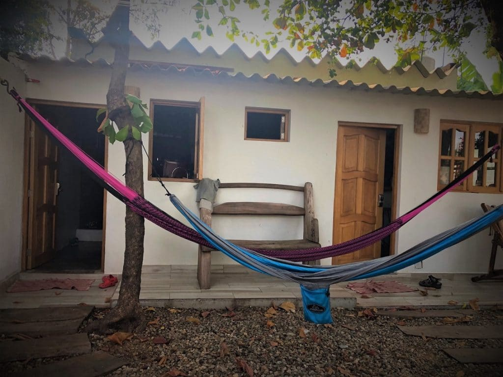 Hammocks at an Airbnb in Mexico, where families can book for Airbnb family travel