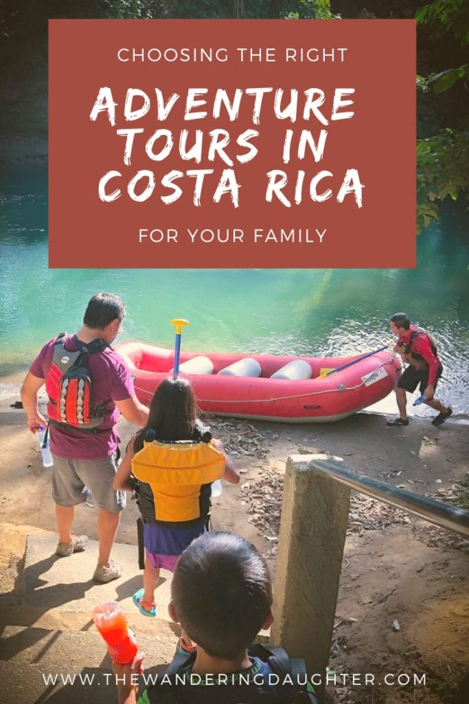 Choosing The Right Adventure Tours In Costa Rica For Your Family | The Wandering Daughter | Tips for choosing the right adventure tours in Costa Rica for you and your kids. #familytravel #adventuretravel #adventuretoursincostarica #adventuretours #CostaRica #puravida