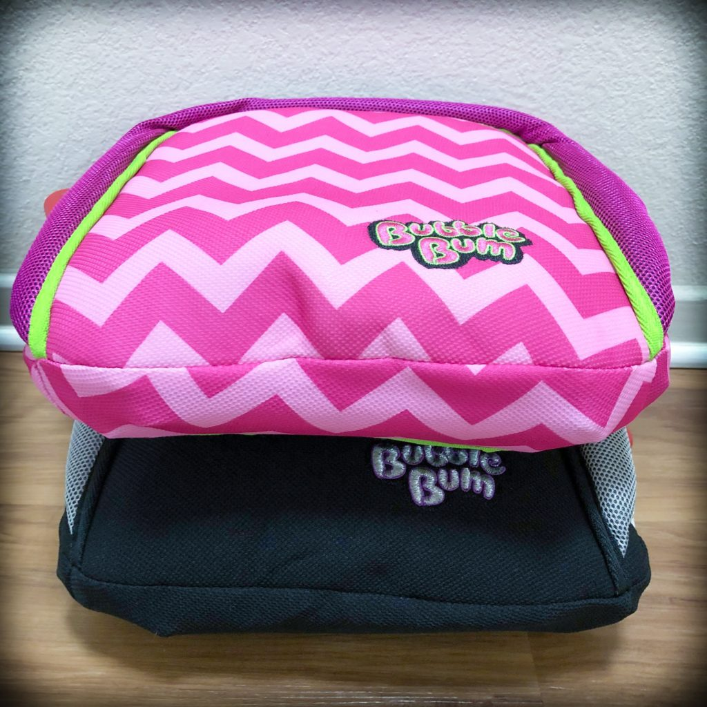 The BubbleBum travel booster seat
