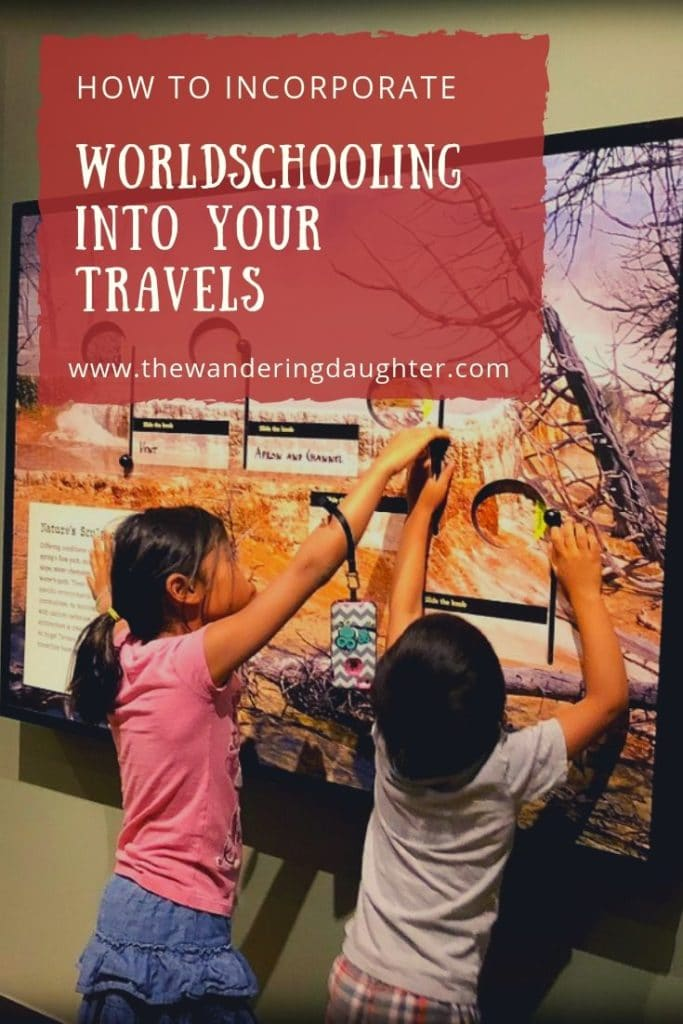 How To Incorporate Worldschooling Into Your Travels   The Wandering Daughter    Families can reap the educational benefits of traveling by doing more experiential learning activities. Here's how to incorporate worldschooling into your travels.  #worldschooling #familytravel #benefitsoftravel
