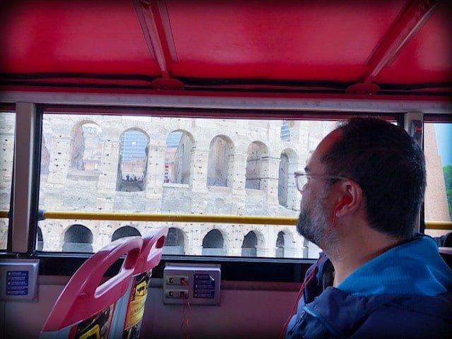 Hop On Hop Off Rome bus