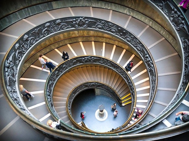 Visiting the Vatican museums through the Hop On Hop Off Rome tour