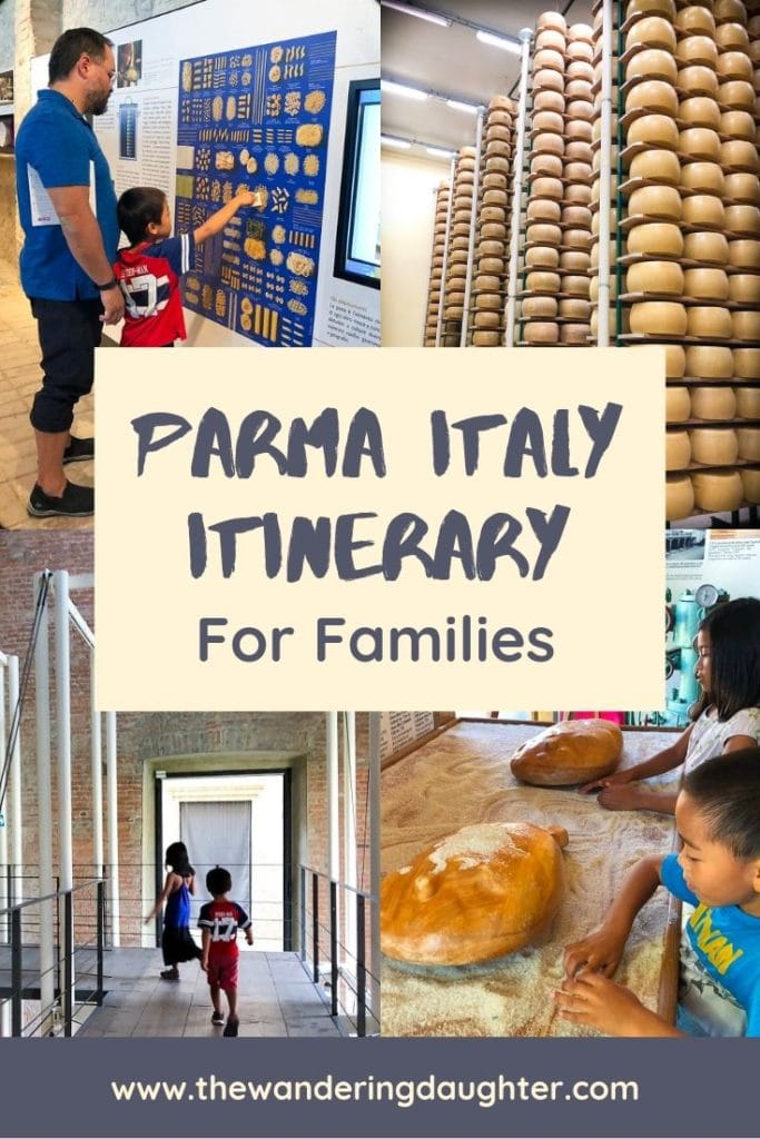 What To Do In Parma: A Fun Itinerary For Families | The Wandering Daughter | Ideas for a Parma Italy itinerary, for families planning to visit the city of Parma in Italy. Family friendly things to do in Parma, Italy. #Parma #Italy #familytravel #visititaly