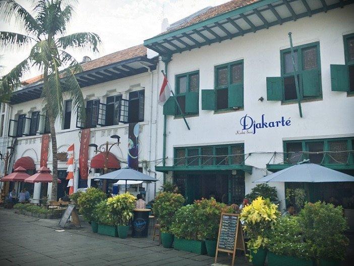 Restaurants in Kota Tua, one of the attractions in Jakarta