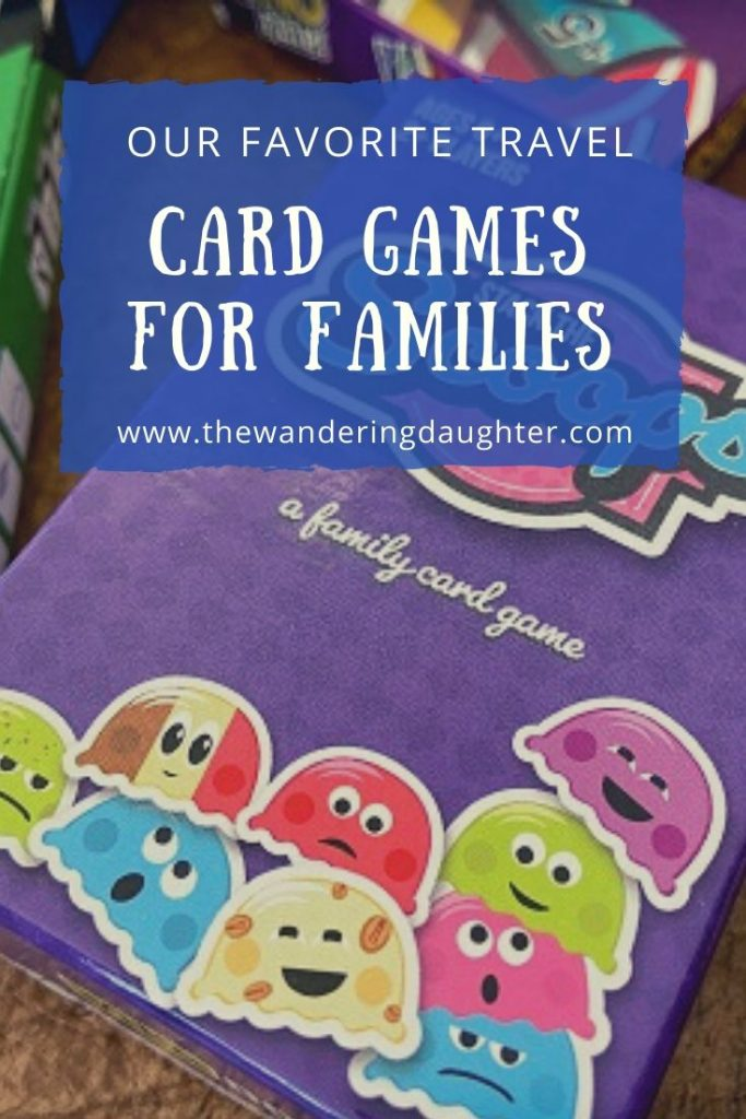 Our Favorite Travel Card Games For Families | The Wandering Daughter