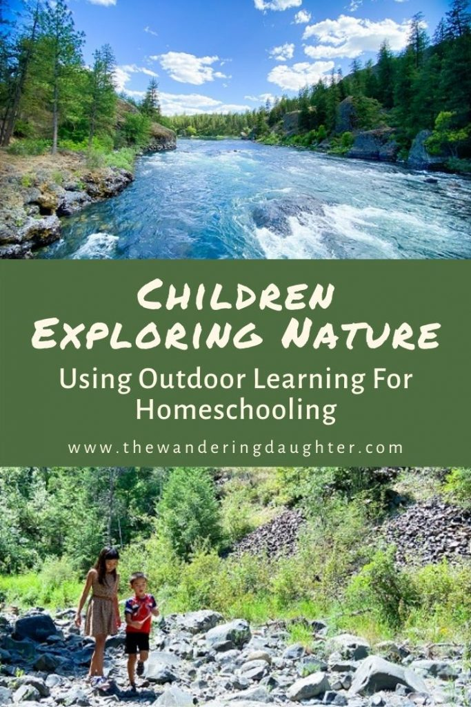 Children Exploring Nature: Eight Ways To Use Outdoor Learning For Homeschooling | The Wandering Daughter